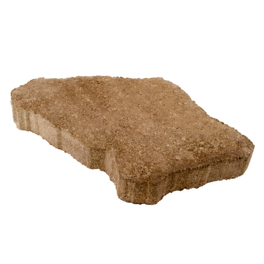 Sand/Tan Concrete Patio Stone (Common: 18-in x 12-in; Actual: 18-in x 12-in)