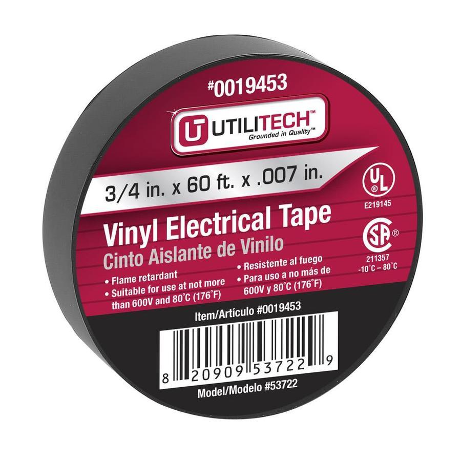 Utilitech 3/4-in x 60-ft General-Duty Electrical Tape
