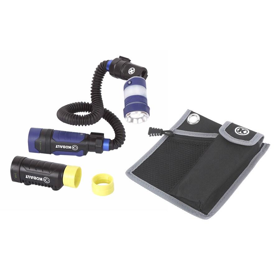 Kobalt 200-Lumen LED Handheld Rechargeable Battery Flashlight