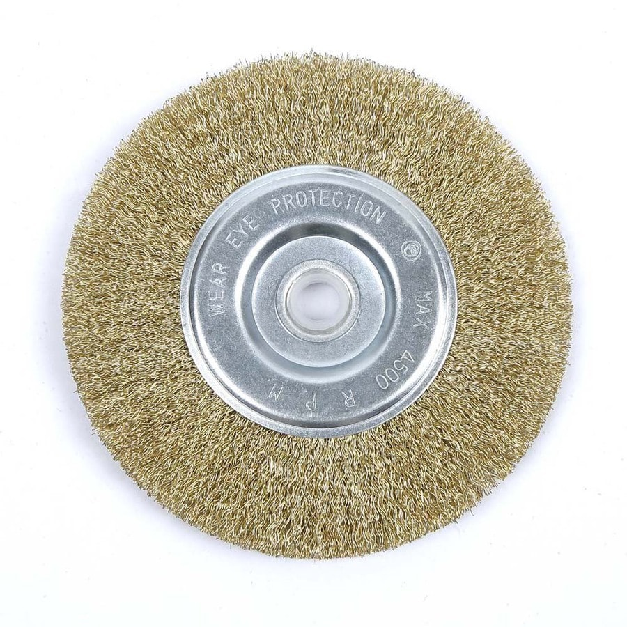 Kobalt 6-in Fine Wire Wheel Brush