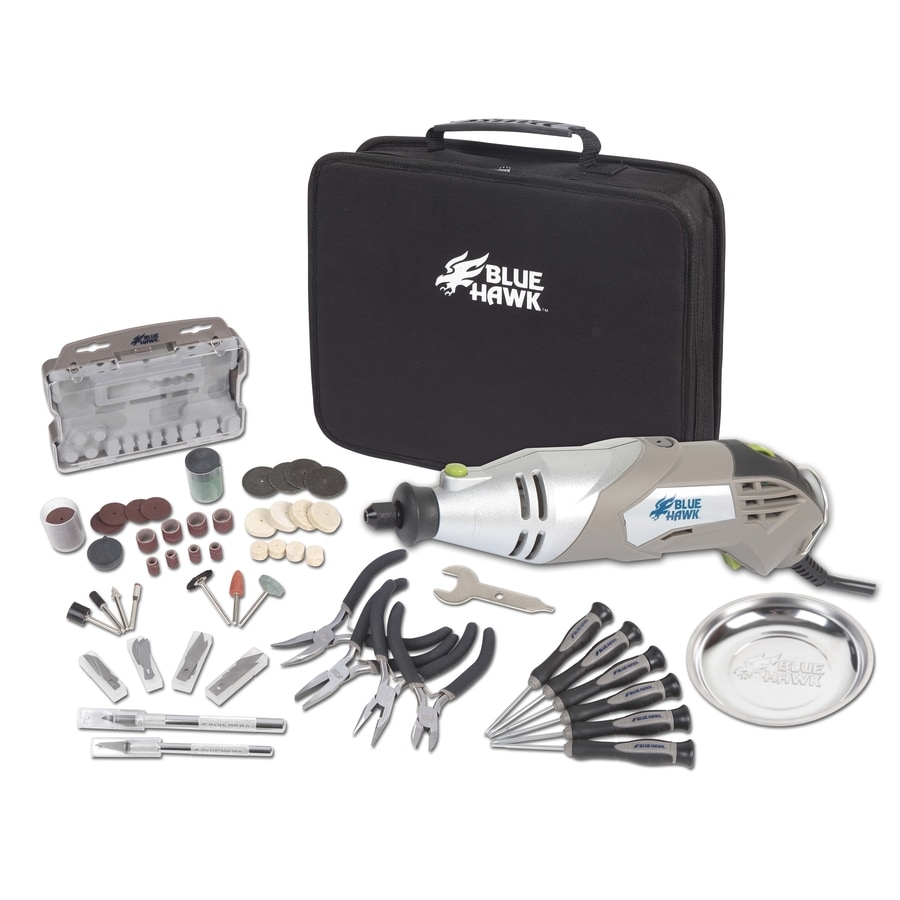 Blue Hawk 89-Piece Rotary Kit