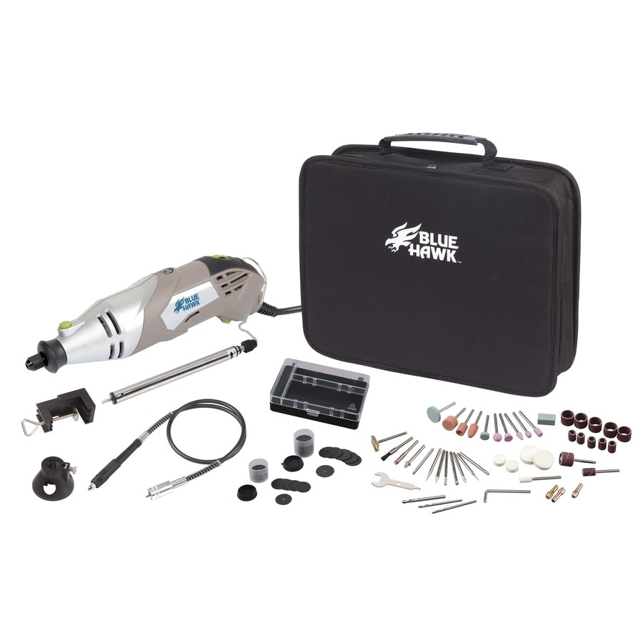 Blue Hawk 130-Piece Rotary Kit