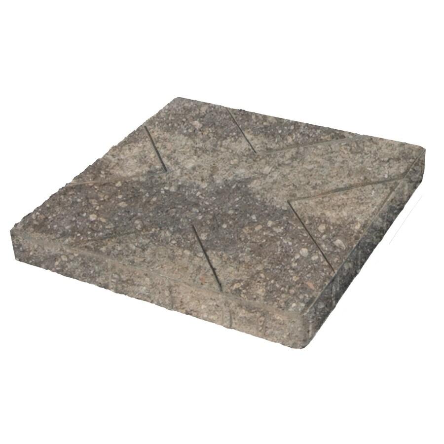Grigio Insignia Concrete Patio Stone (Common: 16-in x 16-in; Actual: 16-in x 16-in)