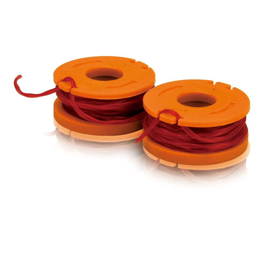 WORX 2-Pack 0.8333333-ft Spool 0.065-in Trimmer Line