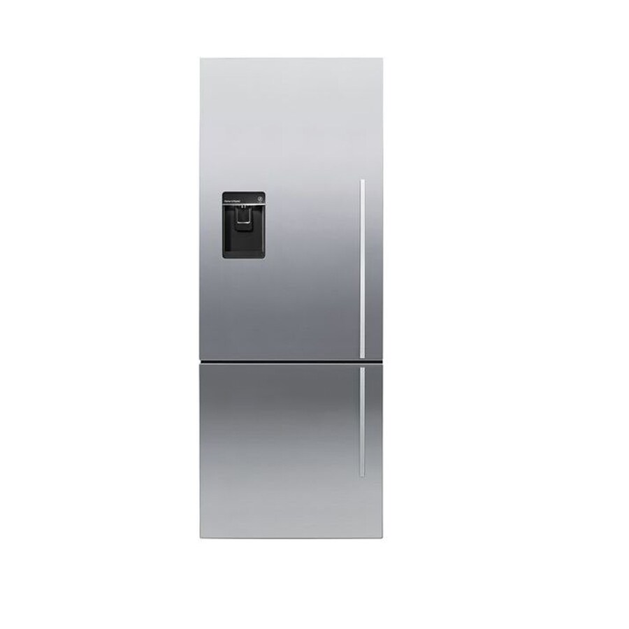 Fisher & Paykel Activesmart 13.4-cu ft Counter-Depth Bottom-Freezer Refrigerator with Single Ice Maker (Stainless Steel)