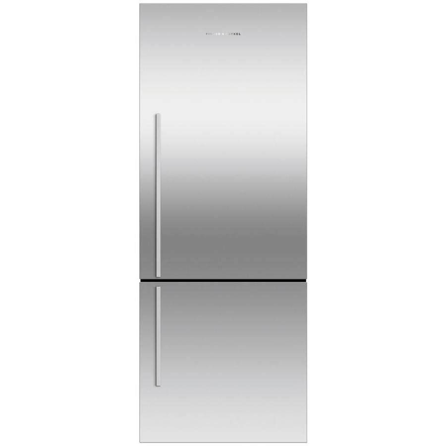Fisher & Paykel 16.8-cu ft Counter-Depth French Door Refrigerator with Single Ice Maker (Stainless Steel) ENERGY STAR