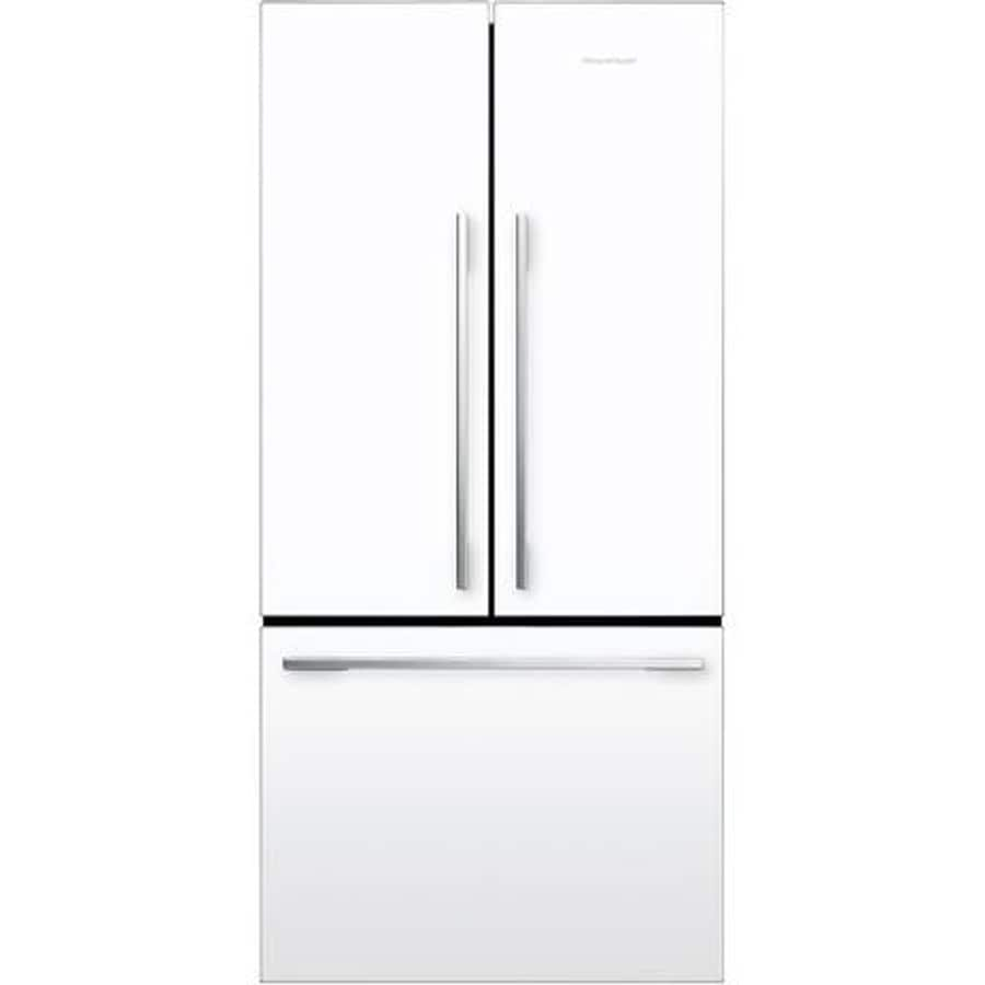 shop fisher paykel 16 9 cu ft counter depth french door refrigerator white at. Black Bedroom Furniture Sets. Home Design Ideas