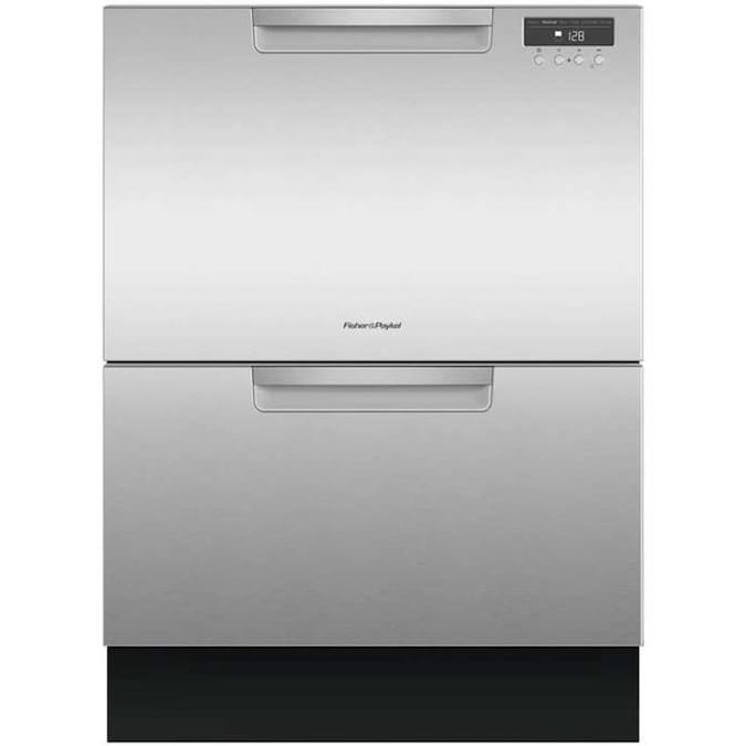 Fisher & Paykel 45-Decibel 24-in Double Drawer Dishwasher (Stainless Steel) ENERGY STAR