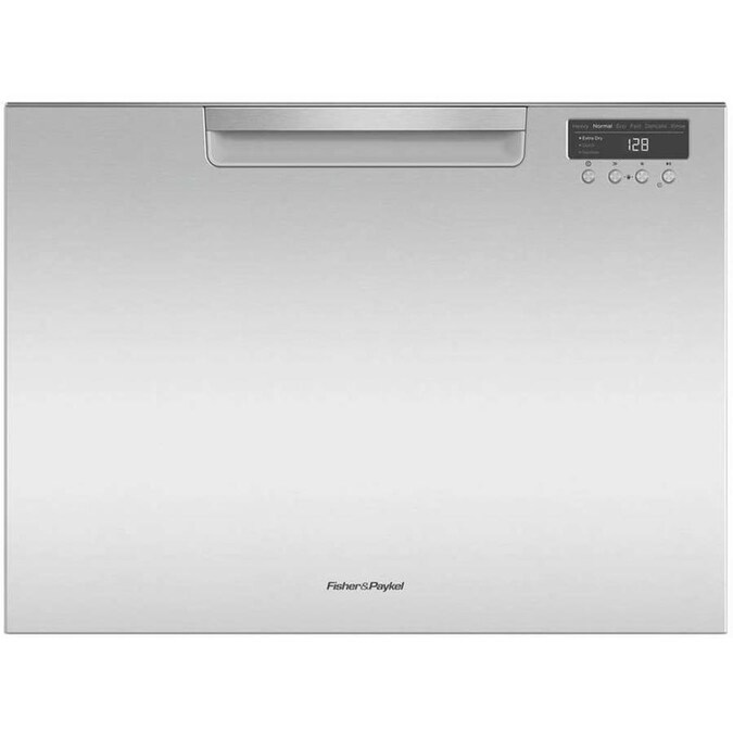 Fisher & Paykel 44-Decibel 24-in Drawer Dishwasher (Stainless Steel) ENERGY STAR