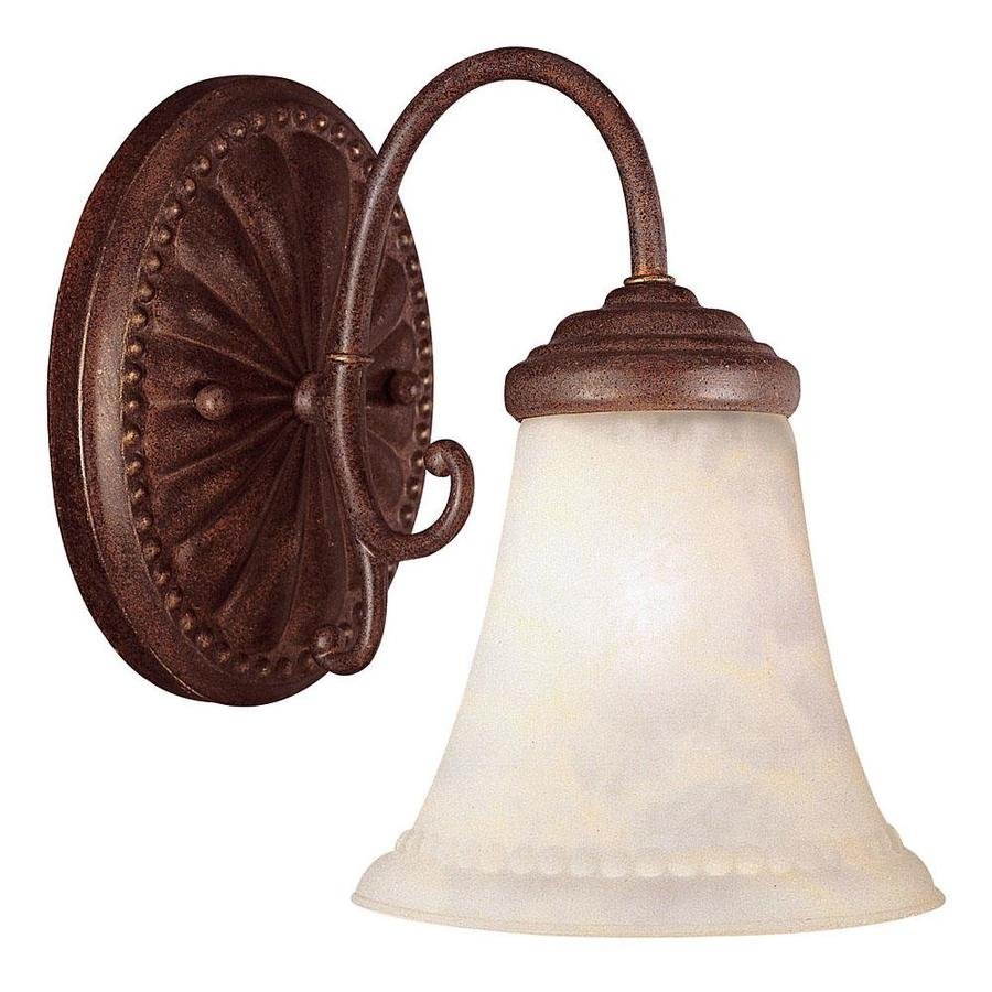 Shandy 1-Light Walnut Patina Vanity Light
