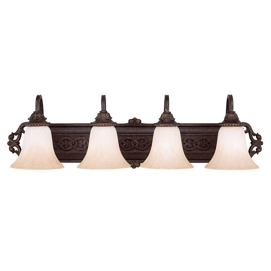 Shandy 4-Light Antique Copper Vanity Light