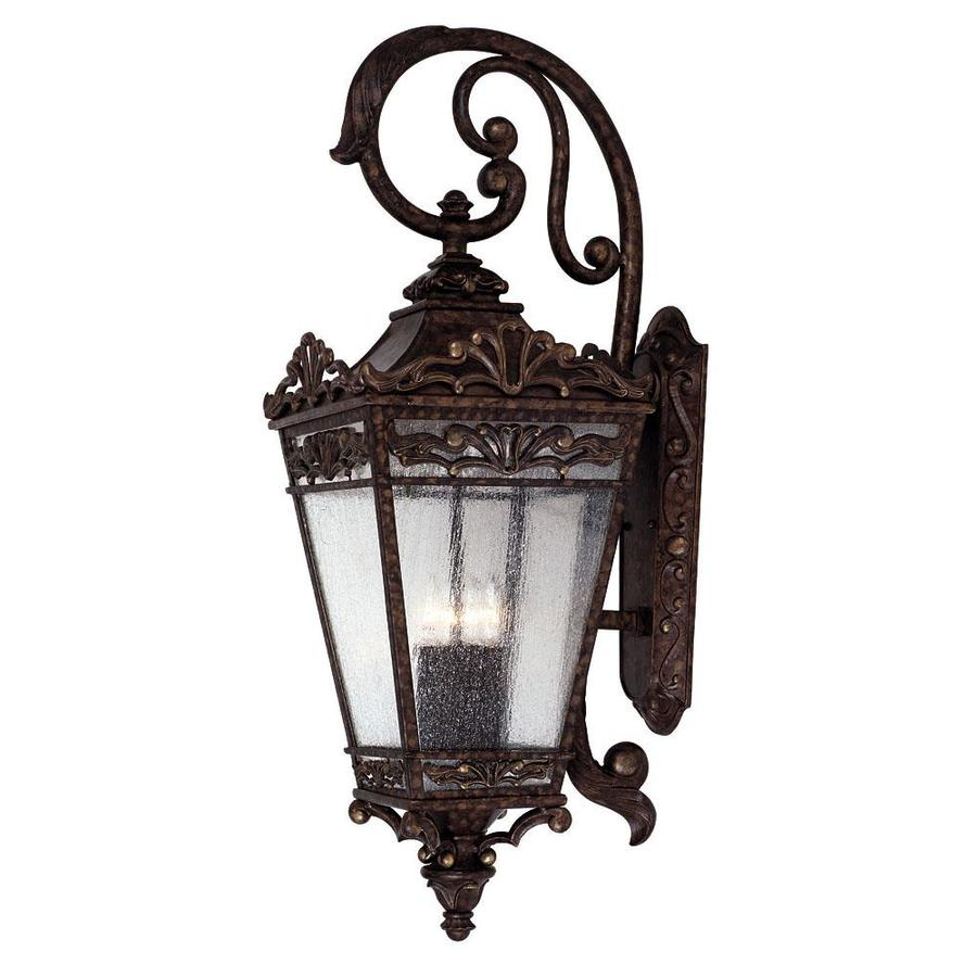 36.75-in H New Tortoise Shell Outdoor Wall Light