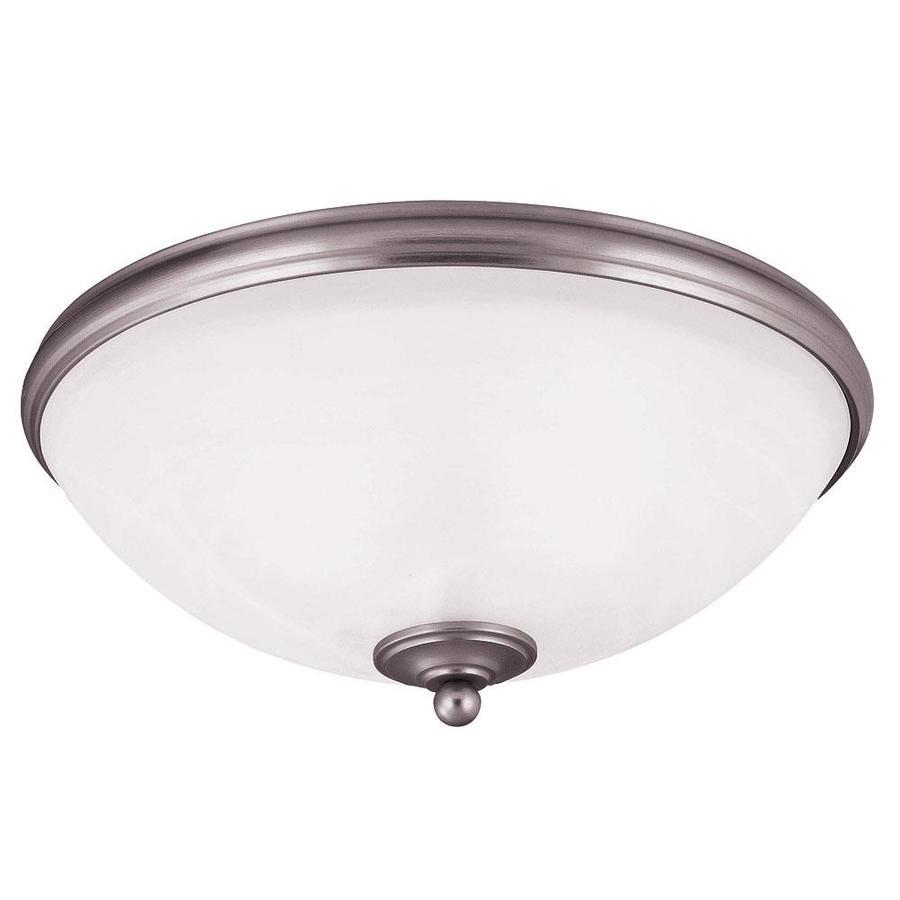 15.75-in W Pewter Ceiling Flush Mount Light