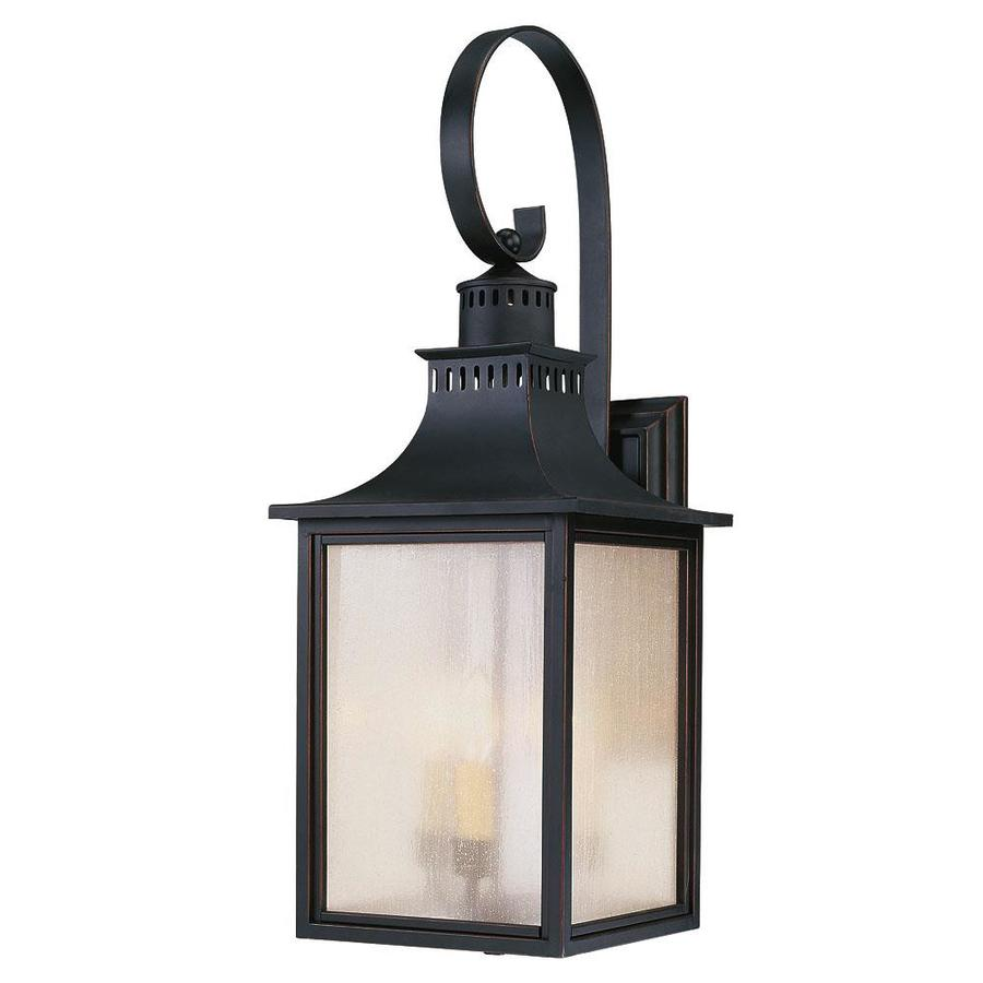 26.75-in H Slate Outdoor Wall Light