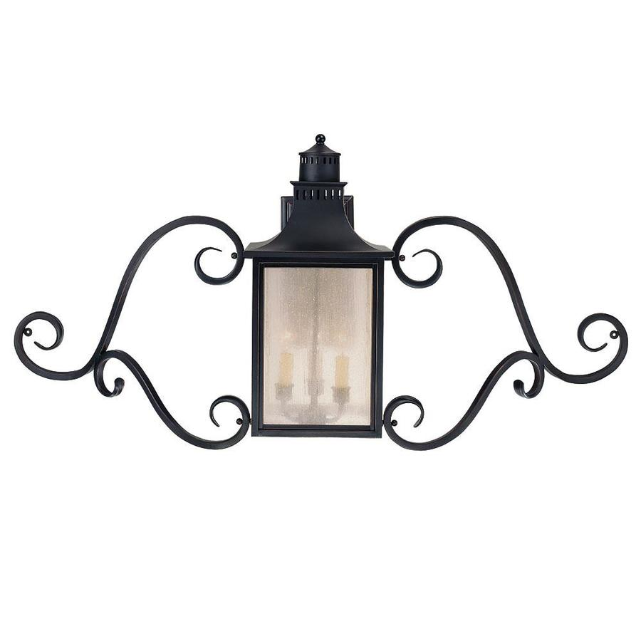 0-in H Slate Outdoor Wall Light