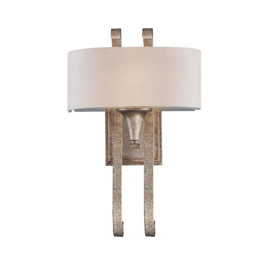 Shandy 10-in W 1-Light Gold Dust Arm Wall Sconce