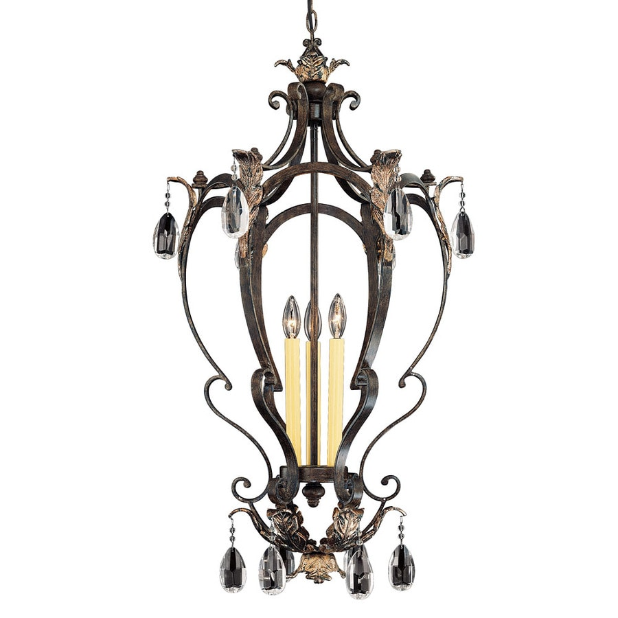 Shandy 19-in Fiesta Bronze Single Pendant