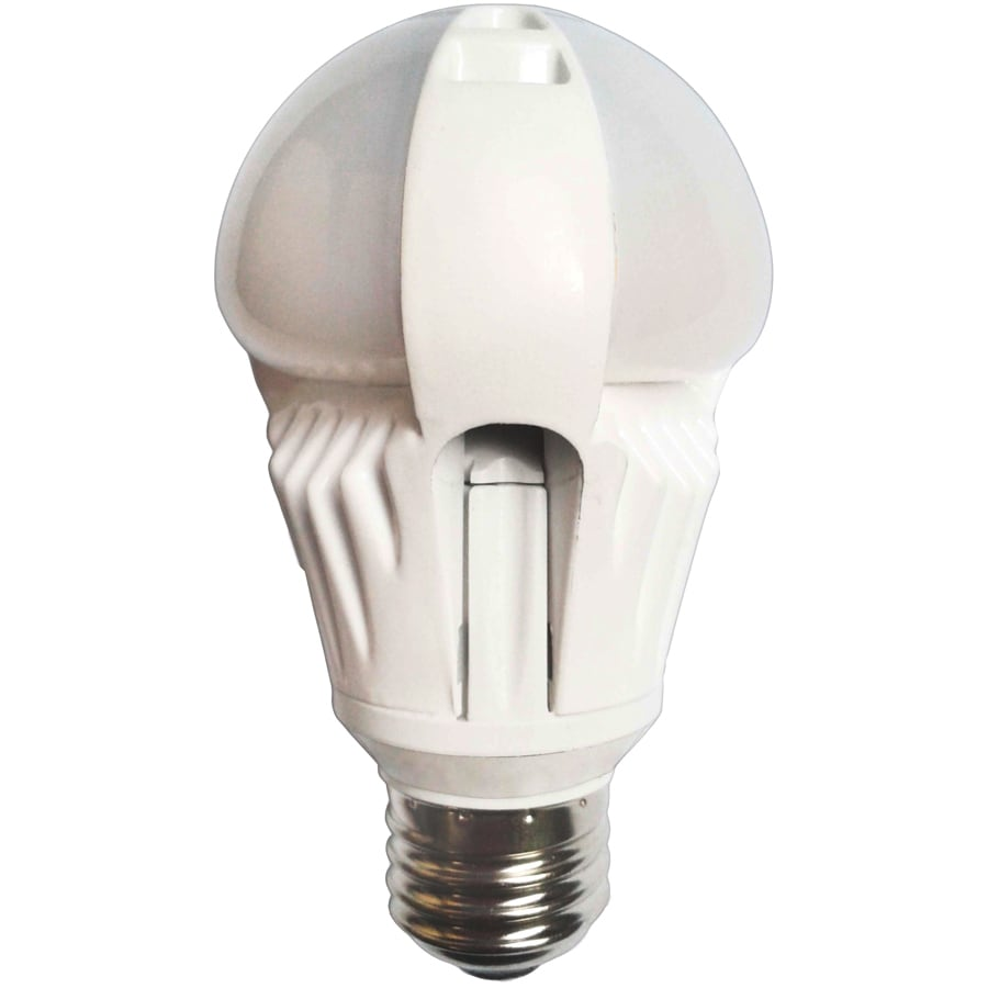 Utilitech Pro 7-Watt (40W Equivalent) 5,000K Medium Base (E-26) Cool White Dimmable Decorative LED Light Bulb