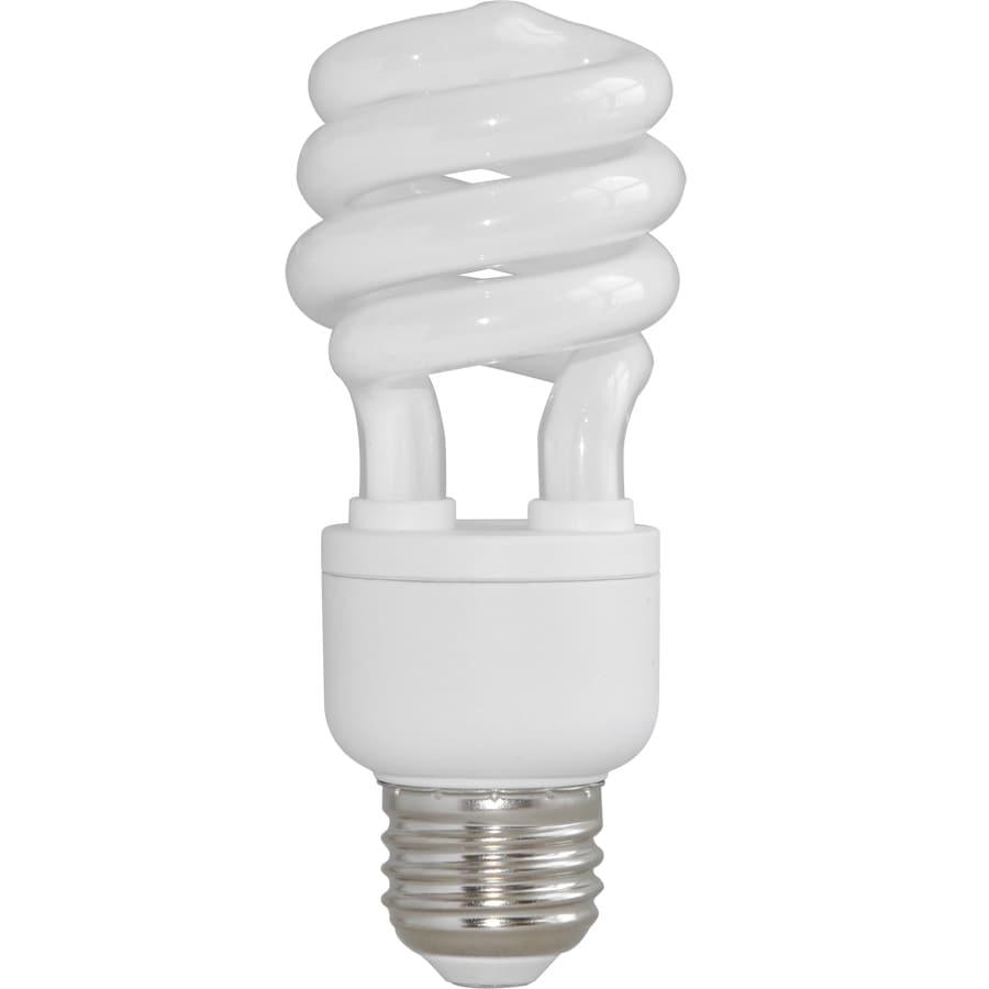 Utilitech 2-Pack 13-Watt (60W Equivalent) ,5,000K Medium (E-26) Base Daylight Decorative CFL Bulbs ENERGY STAR