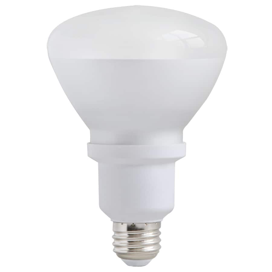 Utilitech 15-Watt (65W Equivalent) 3,500K Medium (E-26) Base Bright White Decorative CFL Bulb ENERGY STAR