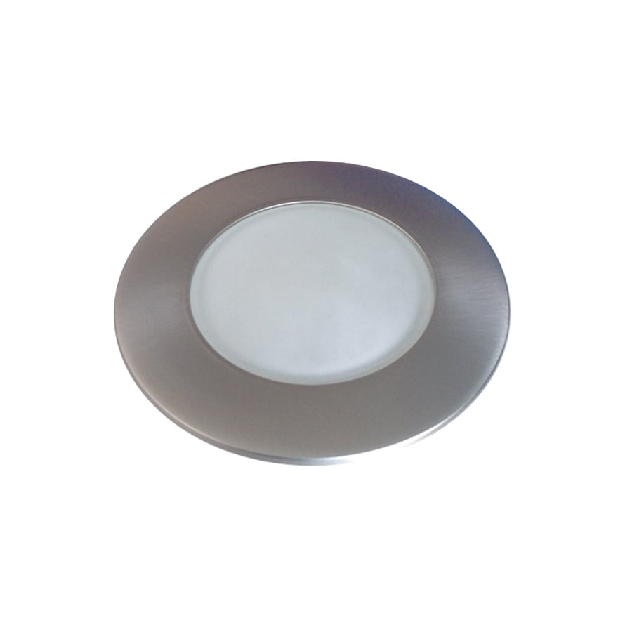 Recessed Lighting Utilitech : Utilitech pro brush nickel shower recessed light trim