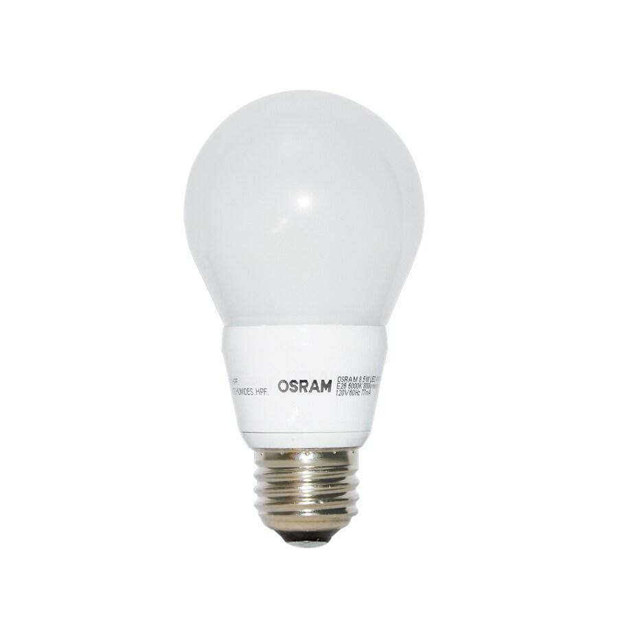 OSRAM 8.5-Watt (60W Equivalent) 5000K A19 Medium Base (E-26) Dimmable Daylight Indoor LED Bulb ENERGY STAR
