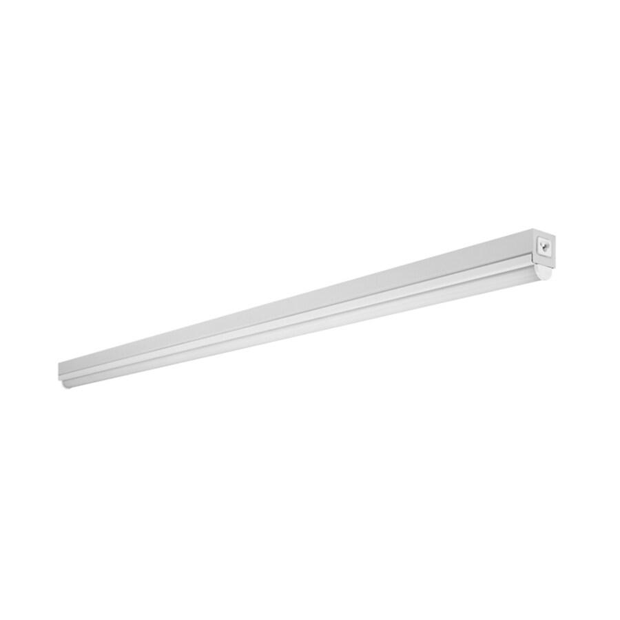 4 X Utilitech Four T8 Fluorescent Bulb: Shop Utilitech Pro Strip Shop Light (Common: 4-ft; Actual