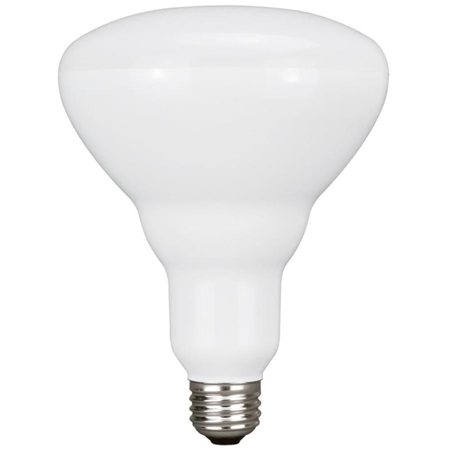 Utilitech 14-Watt (100W Equivalent) 2,700K BR40 Medium Base (E-26) Soft White Indoor Led Flood Light Bulb