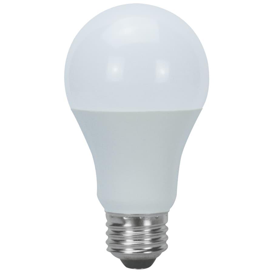 Utilitech 2-Pack 9-Watt (60W Equivalent) 5,000K A19 Medium Base (E-26) Daylight Indoor LED Bulbs