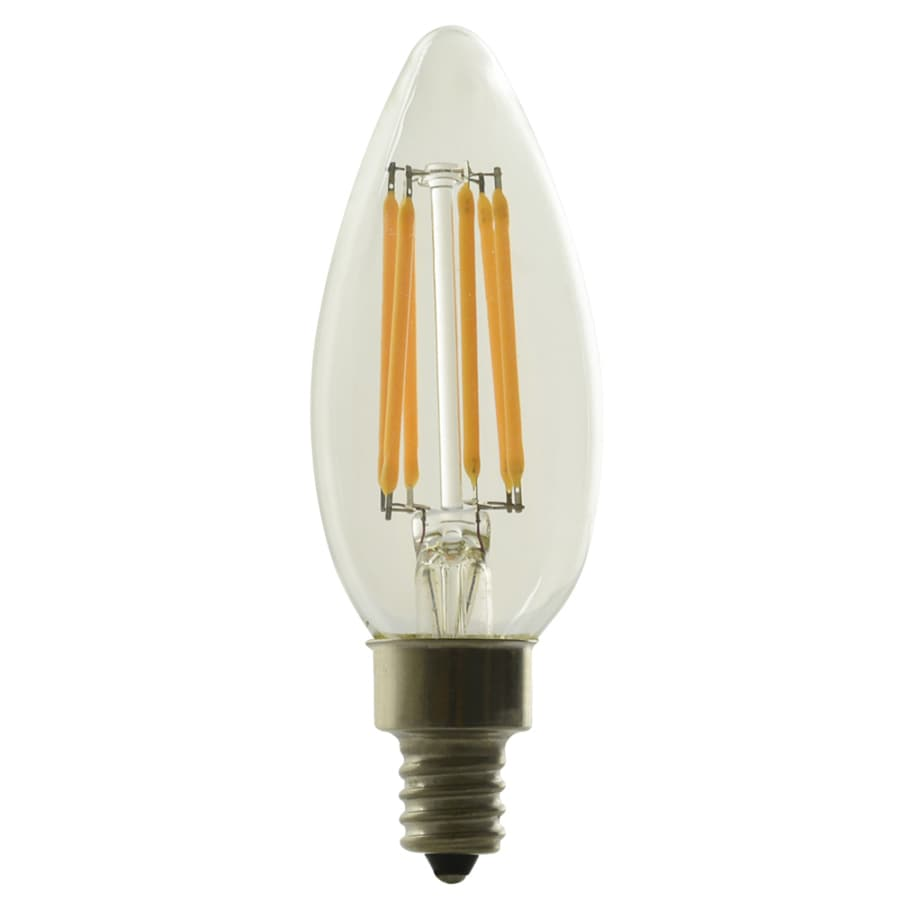 Kichler Lighting 5-Watt (60W Equivalent) 2700K Candelabra Base (E-12) Soft White Dimmable Decorative LED Light Bulb