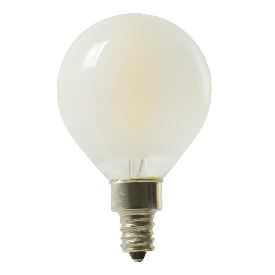 Kichler Lighting 4-Watt (40W Equivalent) 2700K Candelabra Base (E-12) Soft White Dimmable Decorative LED Light Bulb