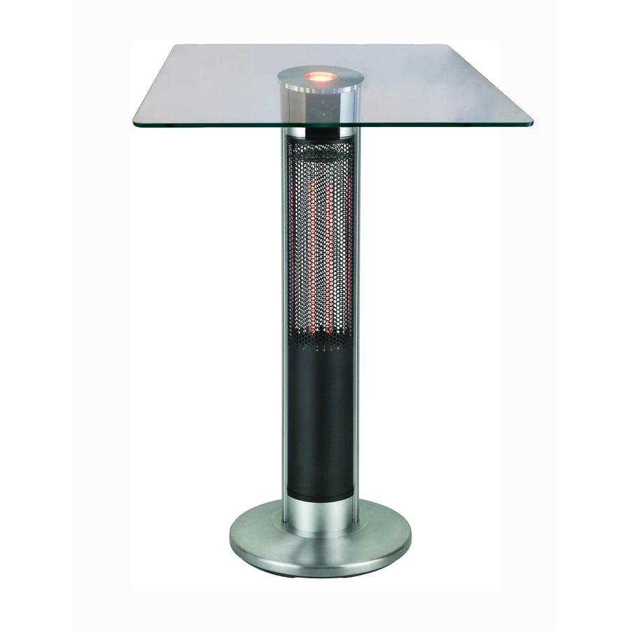 EnerG+ 5100 110 Silver/Black Aluminum Electric Patio Heater