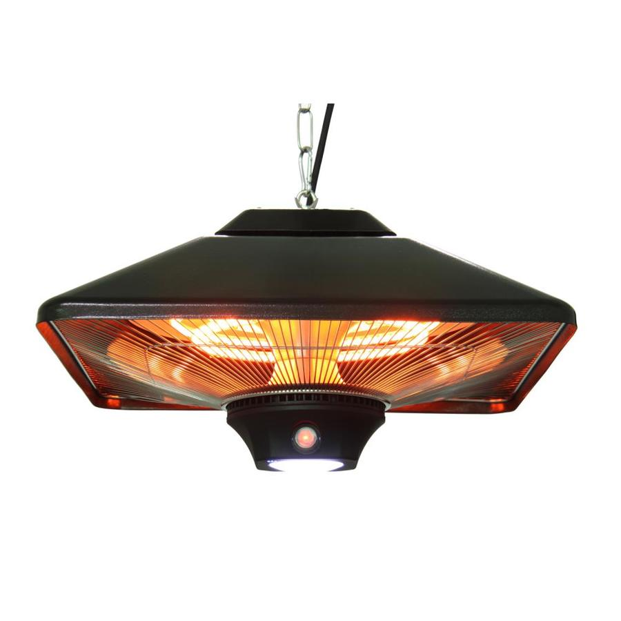 EnerG+ 5100 110 Black Aluminum Electric Patio Heater