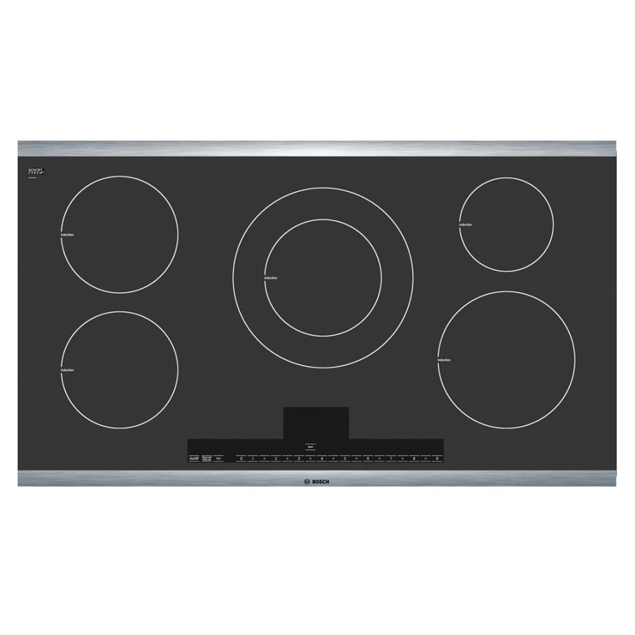 Bosch 500 Series 36-in Smooth Surface Induction Electric Cooktop (Stainless Steel)