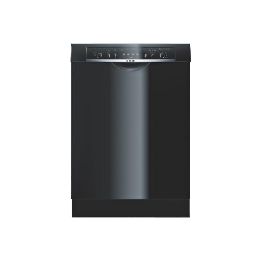 Bosch Ascenta 50-Decibel Built-In Dishwasher (Black) (Common: 24-in; Actual 23.625-in) ENERGY STAR