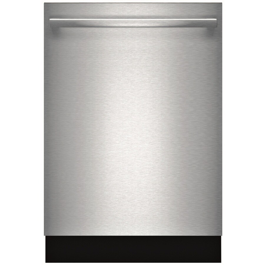 Bosch Ascenta 49-Decibel Built-In Dishwasher (Stainless Steel) (Common: 24-in; Actual: 23.625-in) ENERGY STAR