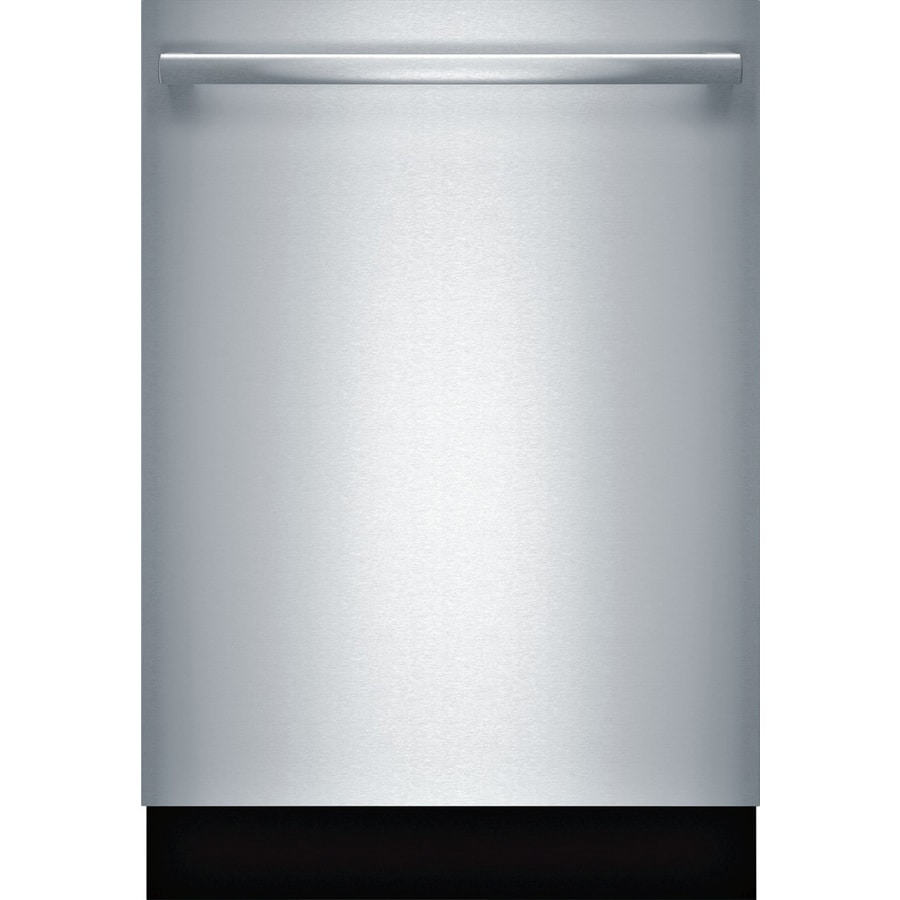 Bosch 800 Series 44-Decibel Built-in Dishwasher (Stainless Steel) (Common: 24-in; Actual: 23.625-in)