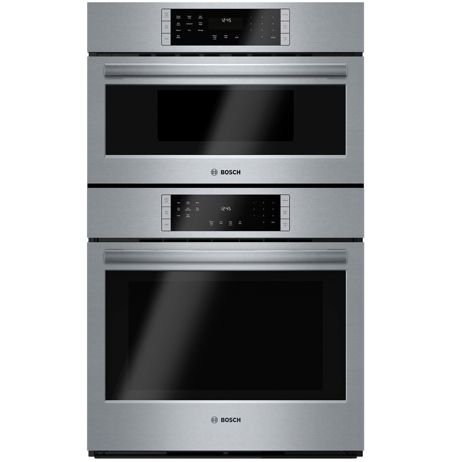 Shop Bosch Self Cleaning Convection Microwave Wall Oven
