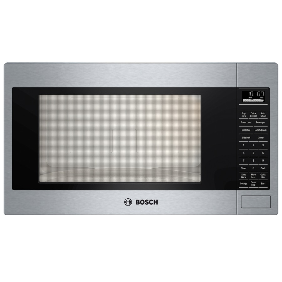 Shop Bosch 500 Series 2 1 Cu Ft Built In Microwave With
