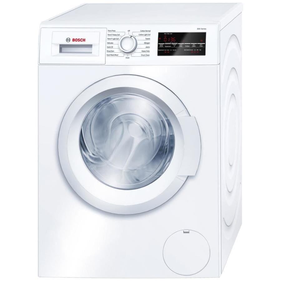 Shop Bosch 300 Series 2 2 Cu Ft High Efficiency Stackable