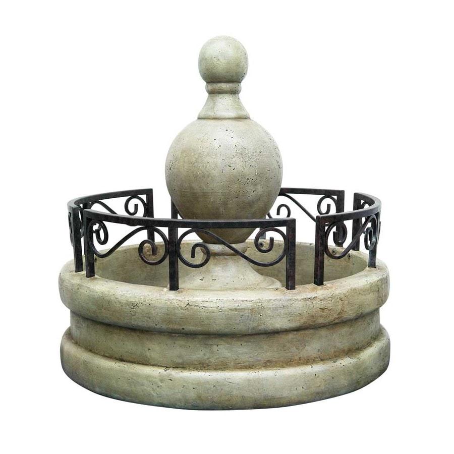 Garden Treasures Scroll Fountain