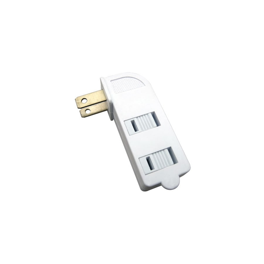 Utilitech 2-Wire Single-to-Triple White Adapter