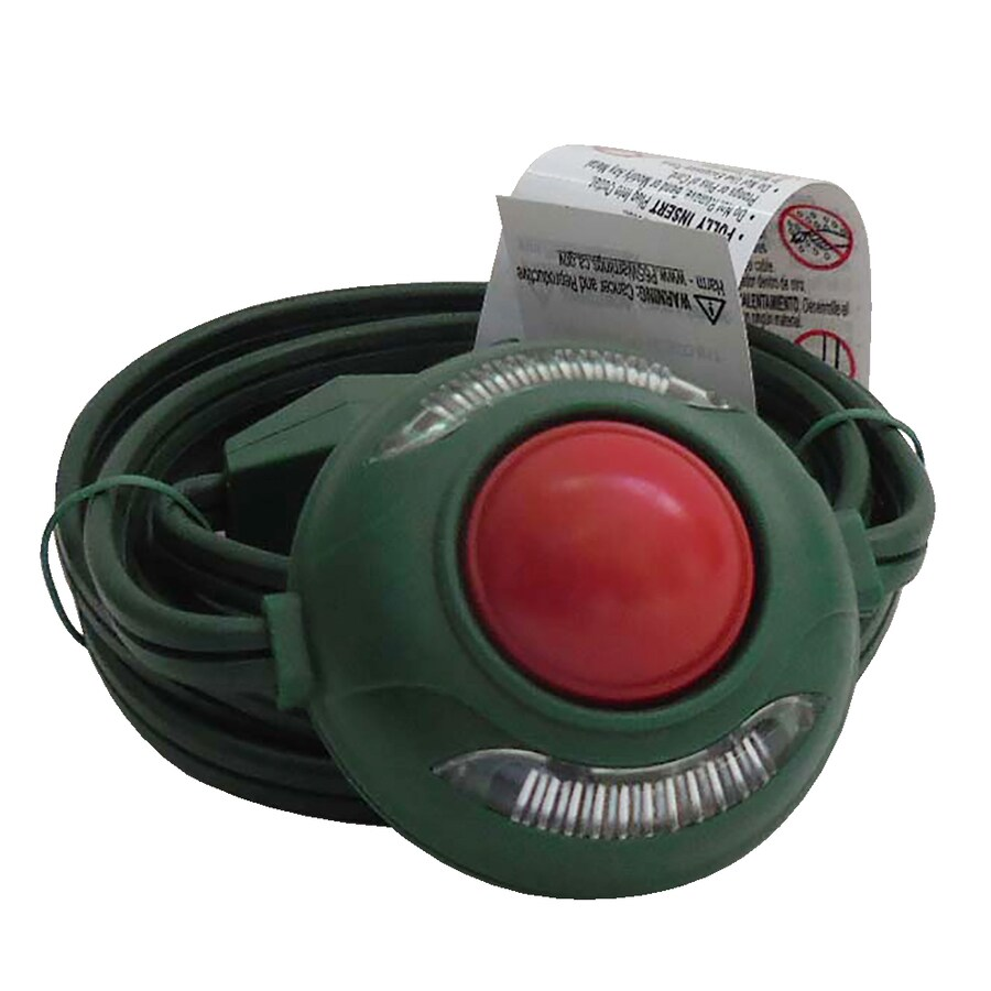 Shop Holiday Living 9 Ft 13 Amp 3 Outlet 16 Gauge Green