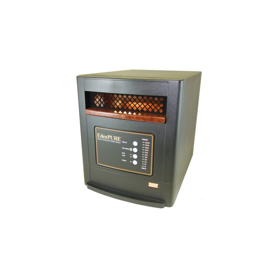 EdenPURE 5,000-BTU Infared Cabinet Electric Space Heater with Thermostat and Energy Saving Setting