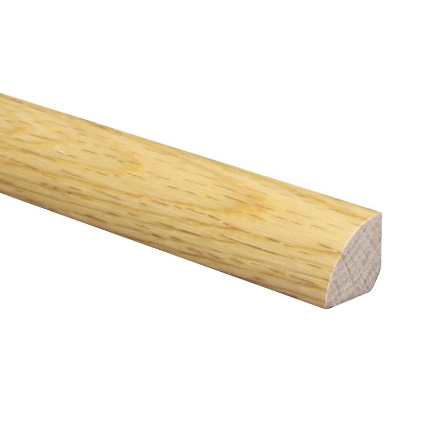 Shop x 78 in unfinished natural wood quarter round for Hardwood floors quarter round