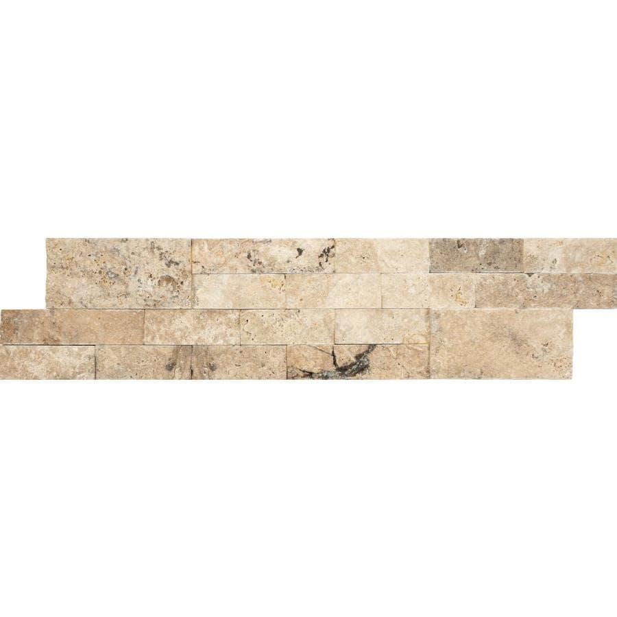 Philadelphia 6 X 6 Travertine Tumbled Tile 1 Piece Sample