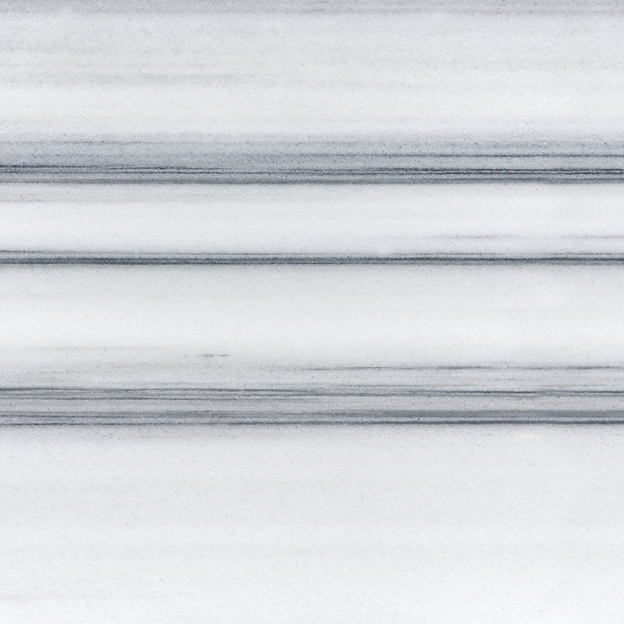 Anatolia Tile 4-Pack Polished Annex Grigio Marble Floor and Wall Tile (Common: 18-in x 18-in; Actual: 17.99-in x 17.99-in)