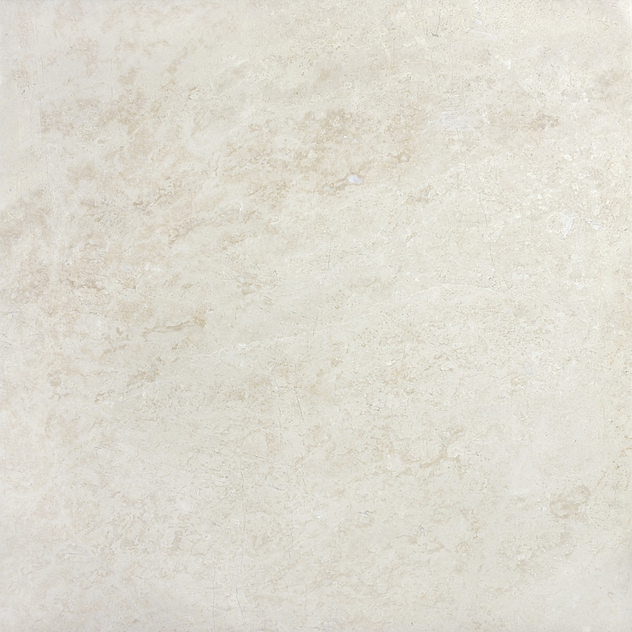 Anatolia Tile 2-Pack Polished Crema Luna Marble Floor and Wall Tile (Common: 24-in x 24-in; Actual: 24-in x 24-in)