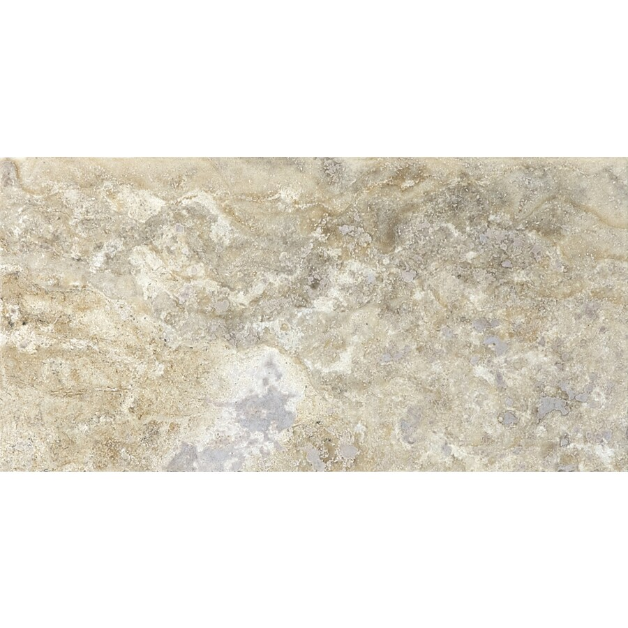 Anatolia Tile 44-Pack Pablo Filled and Honed Travertine Floor and Wall Tile (Common: 3-in x 6-in; Actual: 2.95-in x 5.9-in)