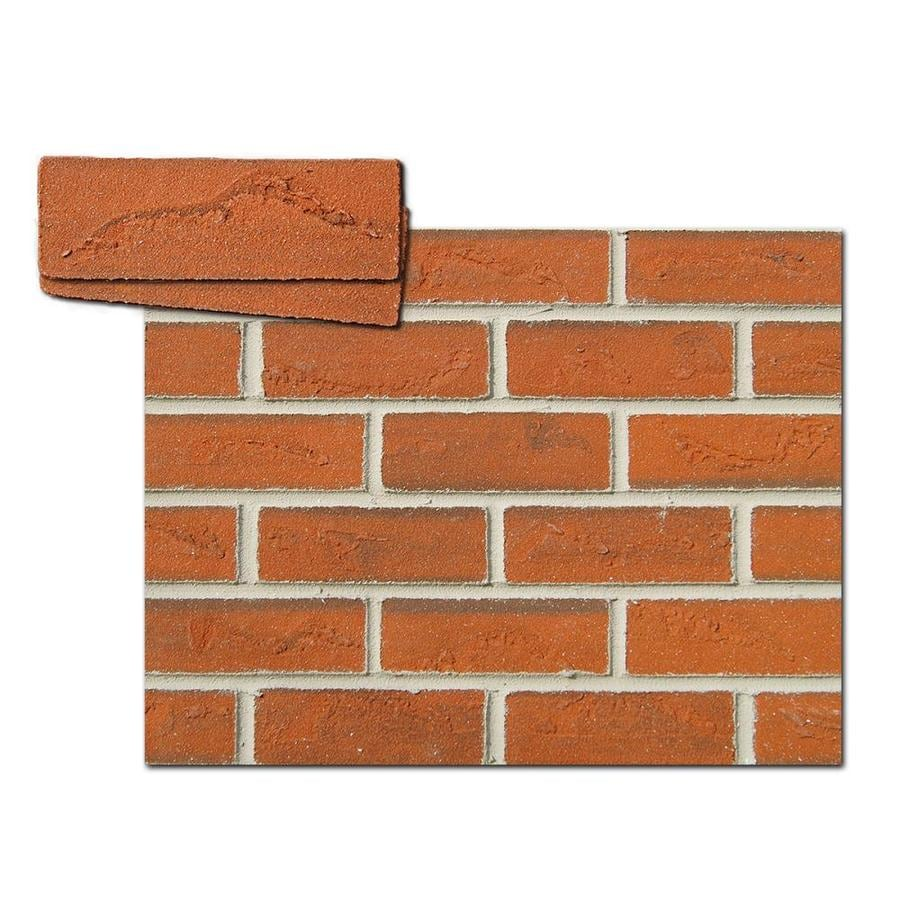 Shop flexi brick 11 5 in brick veneer at for Brick and stone veneer